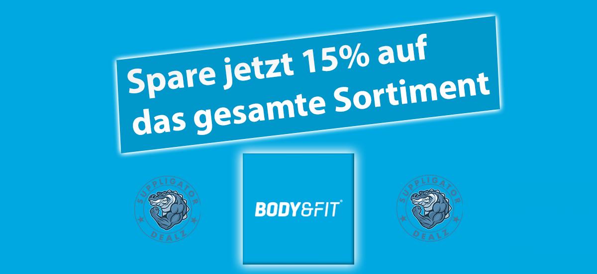 15% Rabatt bei Body&Fit