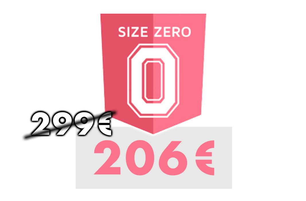 Size Zero Gutschein mit 31% Rabatt
