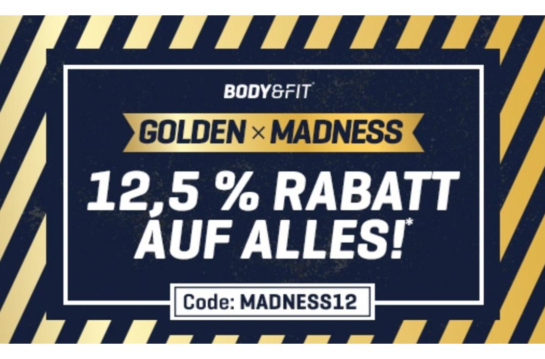 Neuer Body&Fit Gutscheincode für 12,5% Rabatt