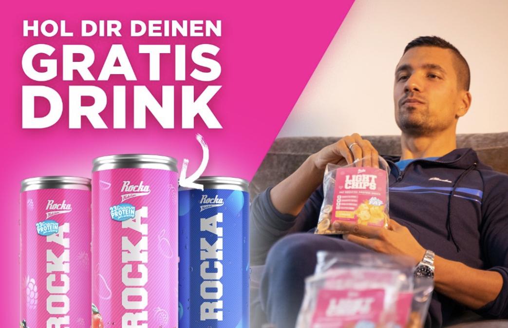 Gratis Drinks bei Rocka Nutrition sichern