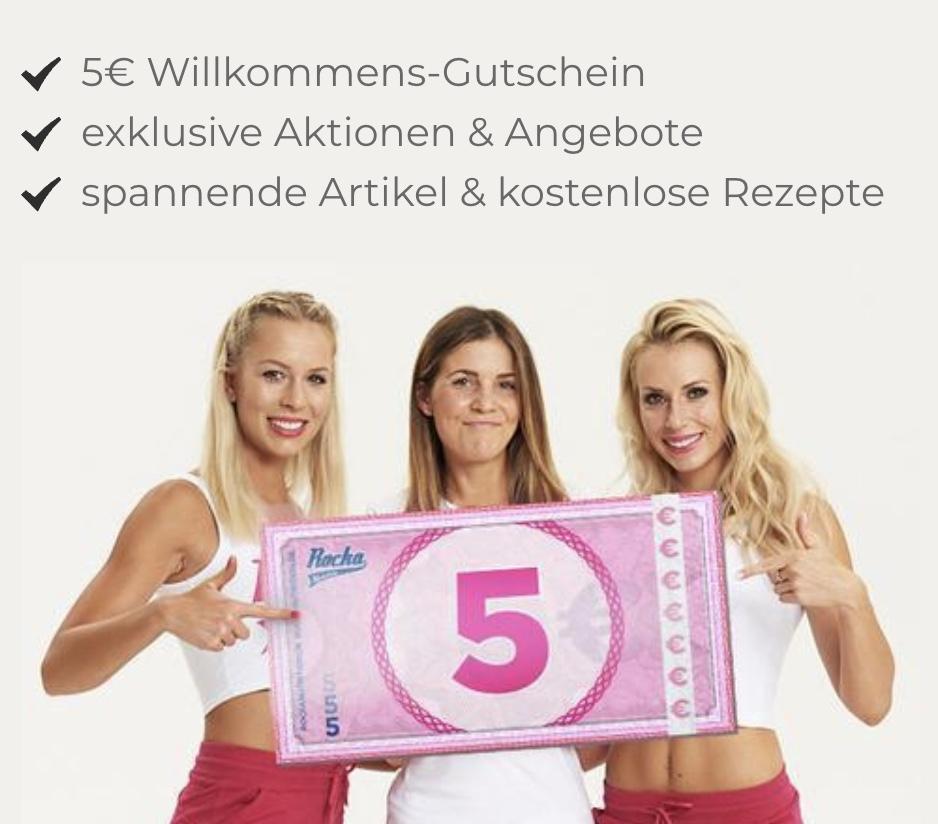 5€ Gutschein für Rocka Nutrition