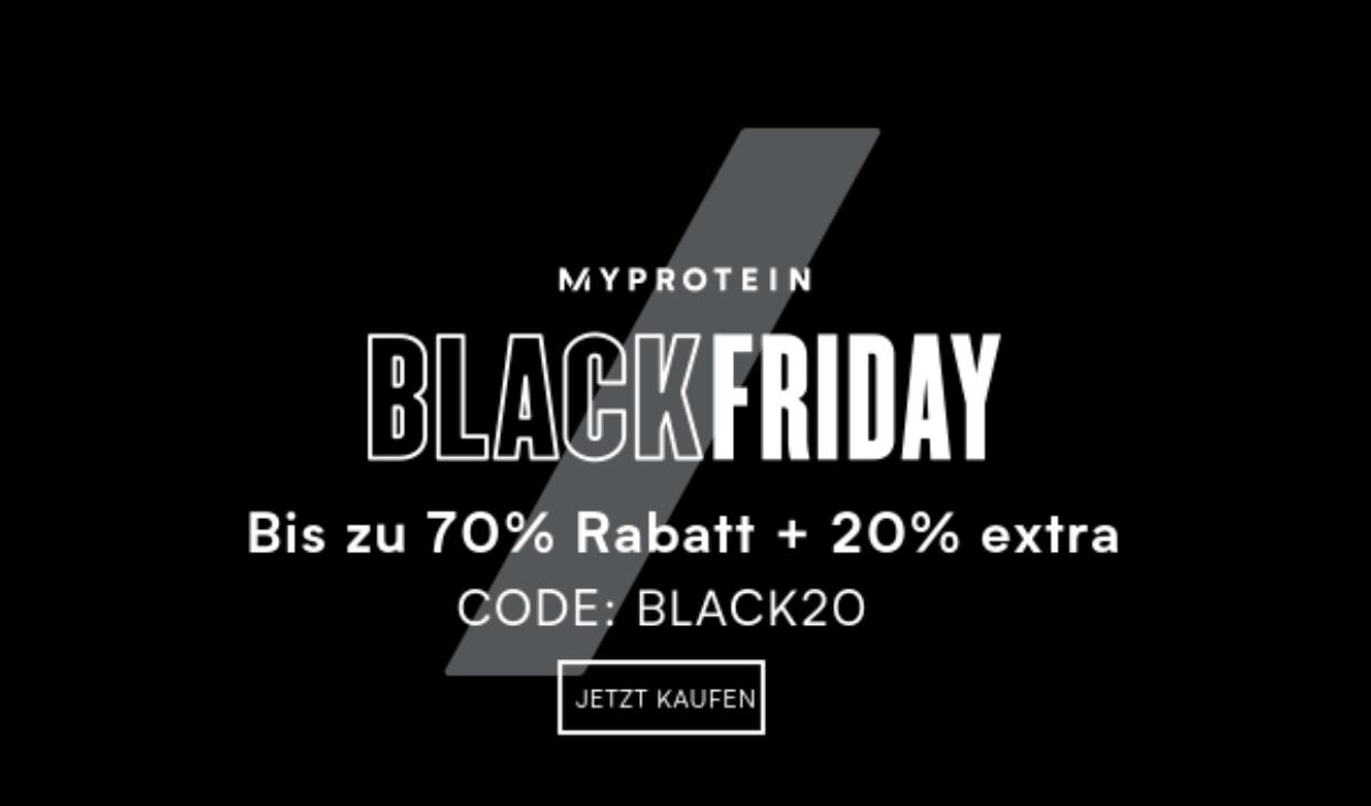 MyProtein Gutschein für bis zu 90% Rabatt