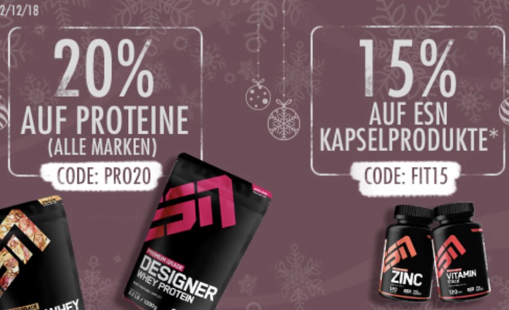 20% Rabattcode für ESN