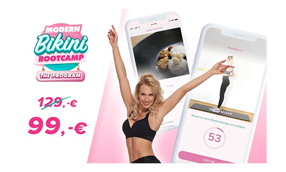 30€ Rabattcode für Modern Bikini Bootcamp