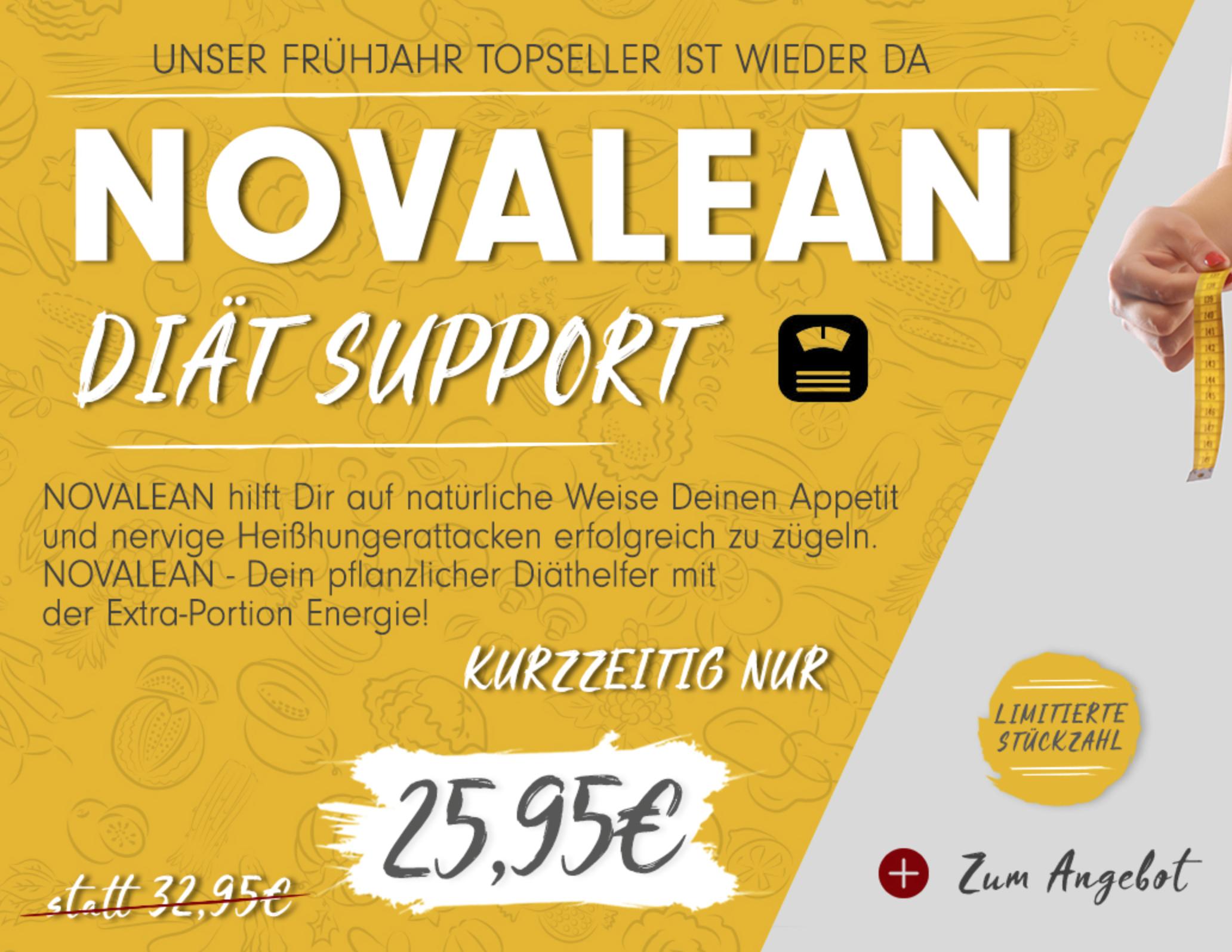 30% Rabatt auf Novalean von Profuel