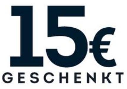 15€ GESCHENKT BEIM KAUF VON LAUFSCHUHEN