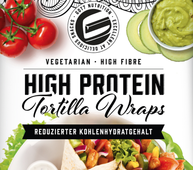 GOT7 30% Rabatt auf Tortilla Wraps