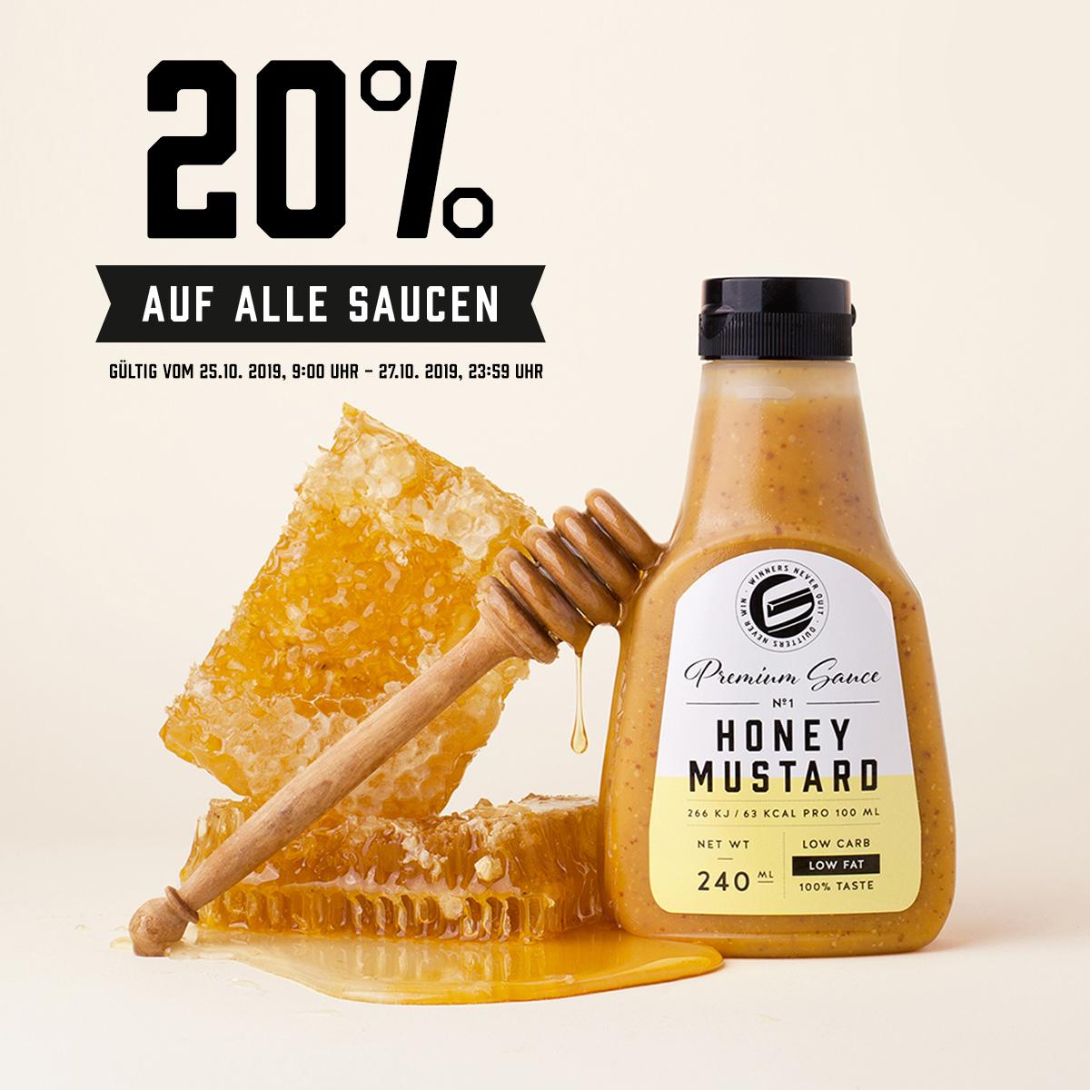 30% auf alle GOT7 Saucen