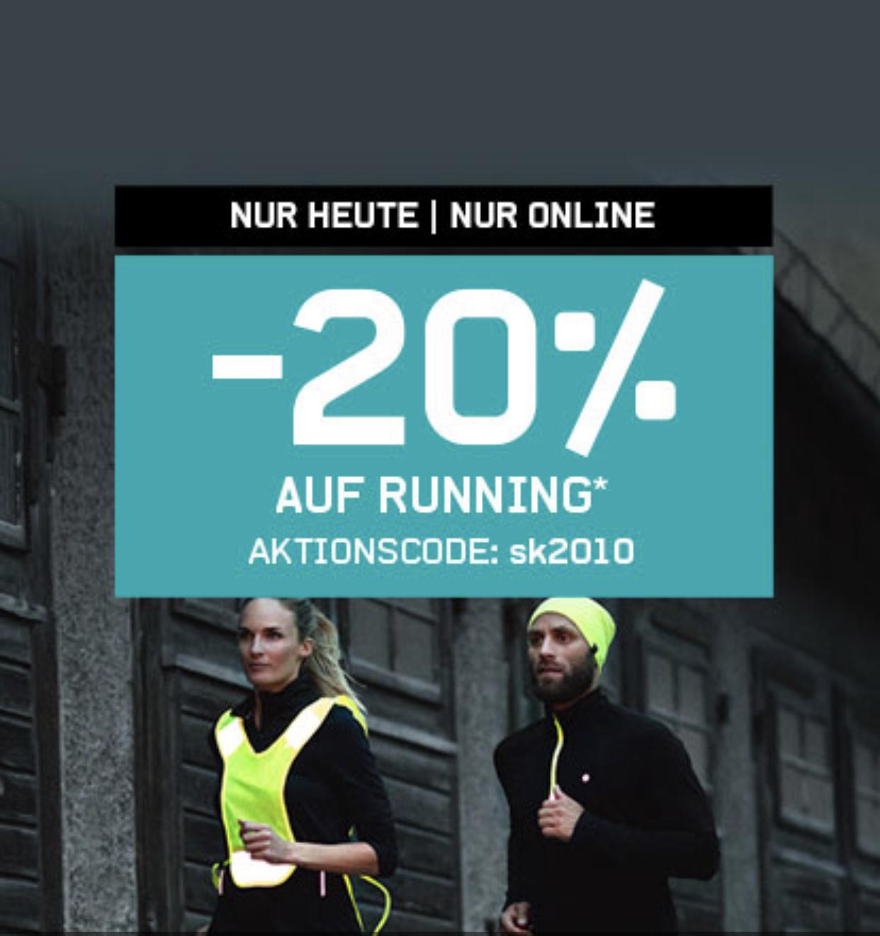 20% Gutschein für Karstadt Sports