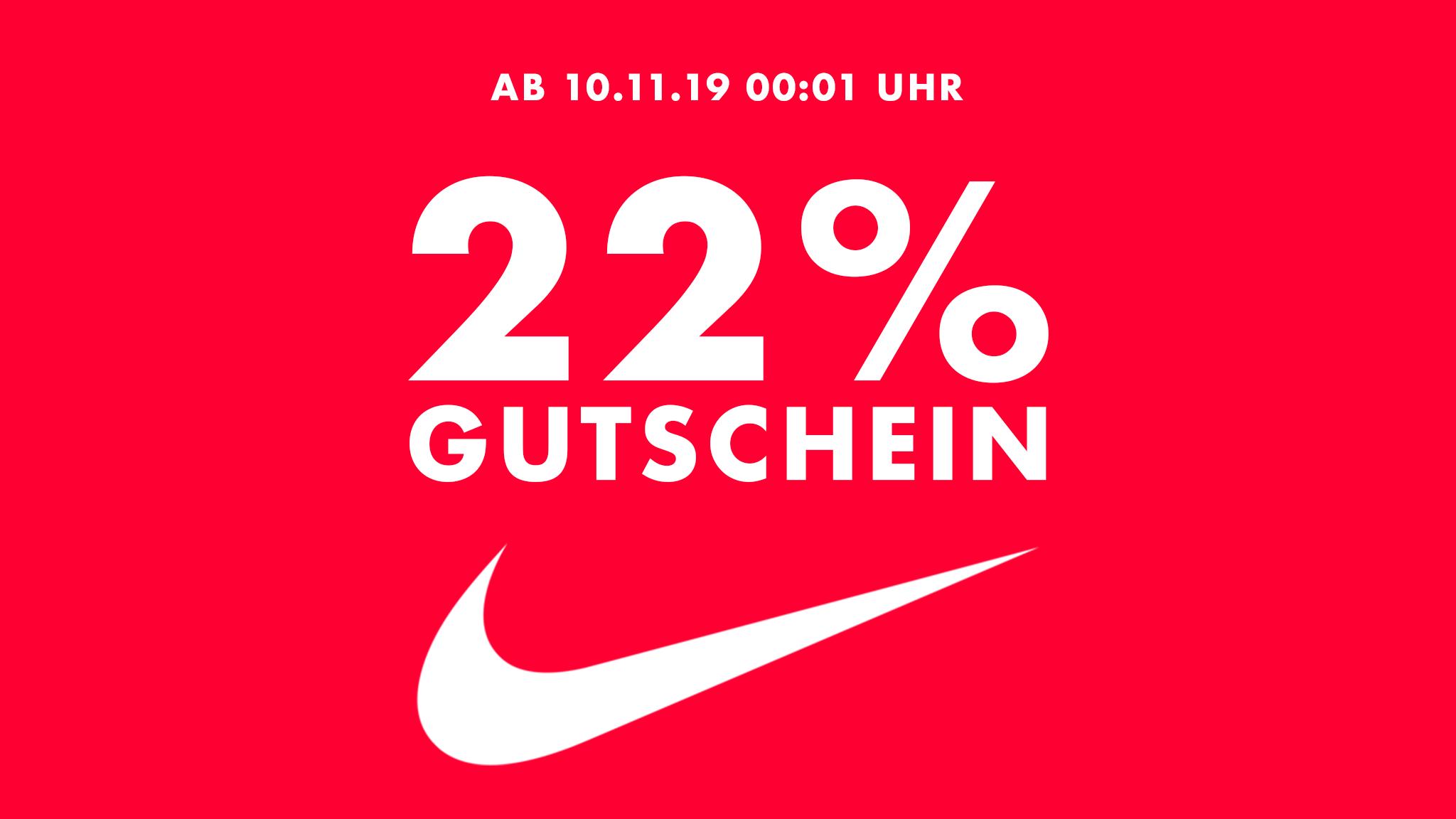 best prices free delivery cheap 22% NIKE Gutschein zum Singles Day | Suppligator.de