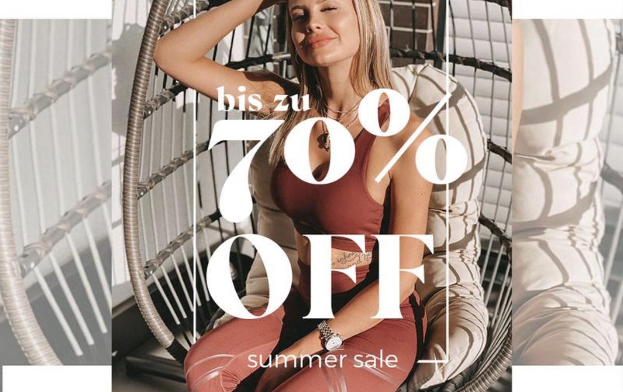 70% off beim BUMBUM Sale