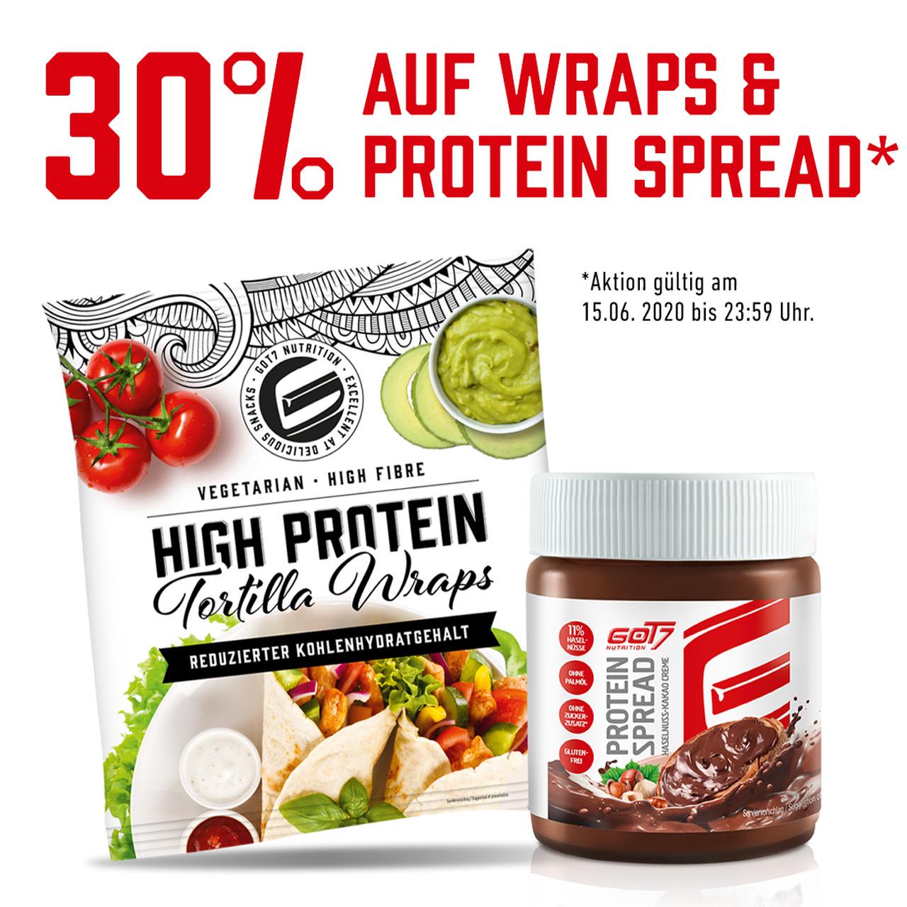 30% auf GOT7 Protein Spread und Wraps