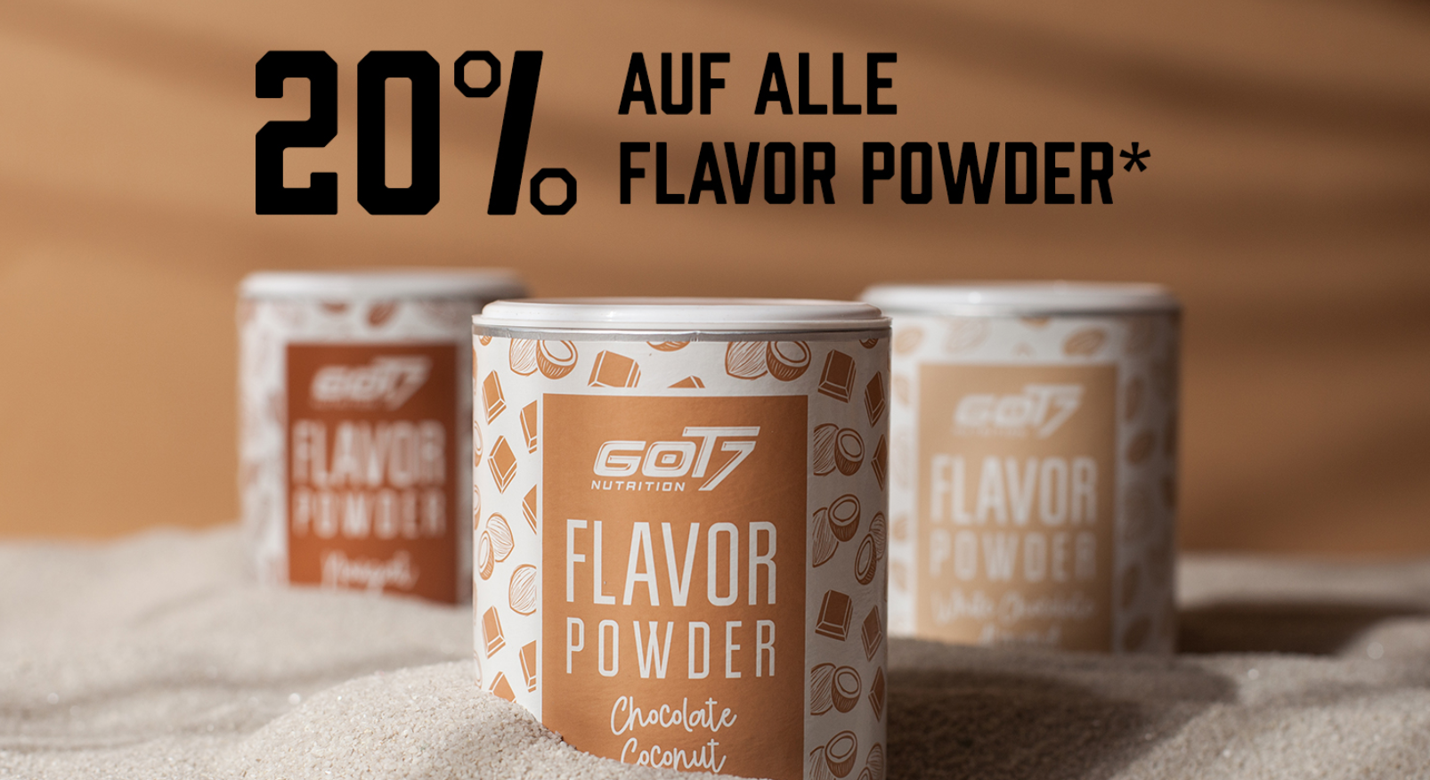 30% auf alle GOT7 Flavor Powder