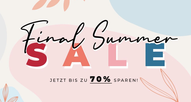 BUMBUM Sale mit 70% Rabatt