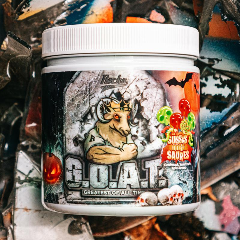 Rocka Nutrition G.O.A.T. Limited Halloween Edition