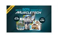 Spare bis zu 50% auf Muscletech bei Body&Fit