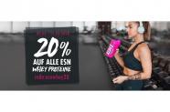 Fitmart Gutschein für 20% auf alle ESN Whey Proteine