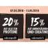 Body&Fit Whey Dealz mit 20% Rabatt