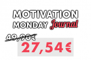 Motivation Monday Journal Gutschein mit 31% Rabatt