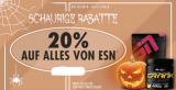 20% auf das gesamte ESN Sortiment mit Fitmart Gutschein