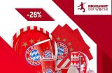 FC Bayern Fanshop mit 28% Rabatt