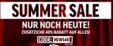 Summer Sale bei Smilodox 40% Rabatt nur noch heute