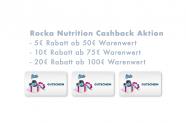 20€ Cashback bei Rocka Nutrition ab 100€ Warenwert