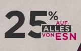 25% auf alles bei Fitmart / ESN