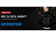 Bis zu 70& Rabatt bei MyProtein