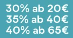 Myprotein Gutschein für bis zu 40% Rabatt