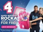 Jedes vierte Produkt gratis bei Rocka Nutrition