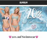 20% Rabatt auf BUMBUM Swimwear