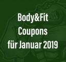 Body&Fit Januar Coupons