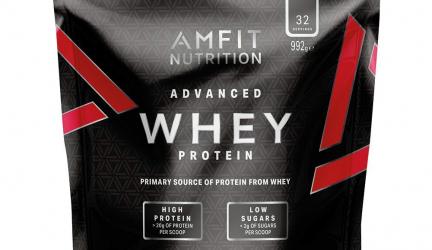 30% Rabatt auf Amfit Proteinpulver von Amazon