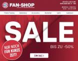 50% Sale im FC Bayern Shop