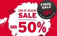 Final Sale im FC Bayern Fanshop 50% + 10% on top