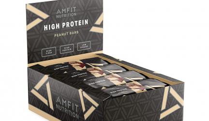 30% Rabatt auf Amfit Proteinriegel von Amazon