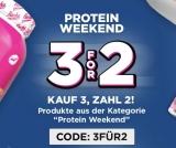 33% Rabatt mit der 3für2 Aktion bei Rocka Nutrition (Protein Produkte)