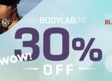 Bodylab24 -> 30% Gutschein auf alles