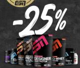 25% ESN Rabatt mit Fitmart Gutschein