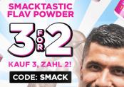 33% Rabatt bei Rocka Nutrition dank Gutschein (Smacktastic)