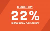 Gutschein mit 22% Rabatt auf alles von Body&Fit