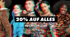 20% Rabattcode für ASOS