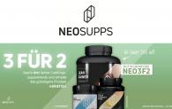 3 für 2 Aktion bei NEOSUPPS