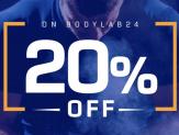 20% Gutschein für alles bei Bodylab24