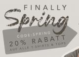 20% Rabatt auf alle Beyond Limits T-Shirts