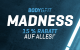 Body & Fit Gutschein -> 15% Rabatt April