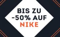 50% auf NIKE bei SportScheck