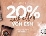20% auf alles von ESN bei Fitmart
