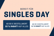 22% auf alles bei Body and Fit